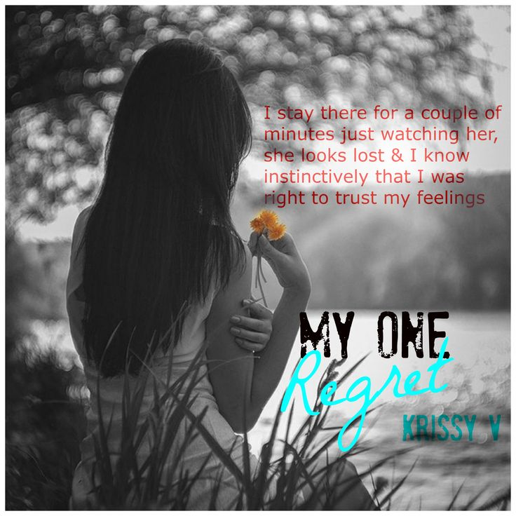My One Regret by Krissy V  Watch the Trailer: Trailer: https://youtu.be/ImOy0lD3IbM ‪#‎TeaserTuesday‬ # MyOneRegret @authorkrissyv ‪#‎SoulMates‬ ‪#‎Regrets‬ ‪#‎Jordan‬ ‪#‎TrueLove‬#OneClick ‪#‎Reviews‬ ‪#‎5Stars‬ @NatG7377 Buy Links  US~> http://www.amazon.com/dp/B011J8TRAA UK~>http://www.amazon.co.uk/dp/B011J8TRAA Goodreads ~> https://www.goodreads.com/book/show/25796094-my-one-regret