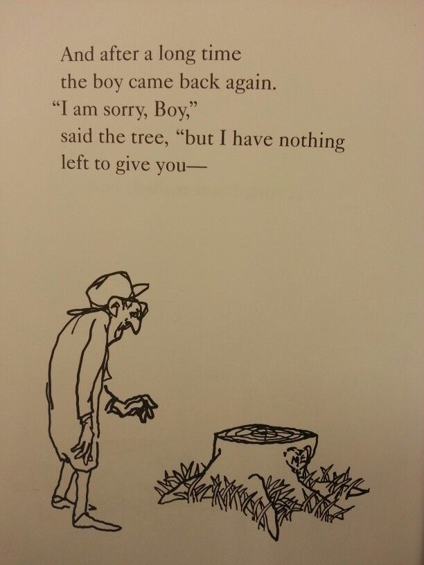 The Giving Tree    this book makes me cry  but I love itThe Giving Tree Quotes