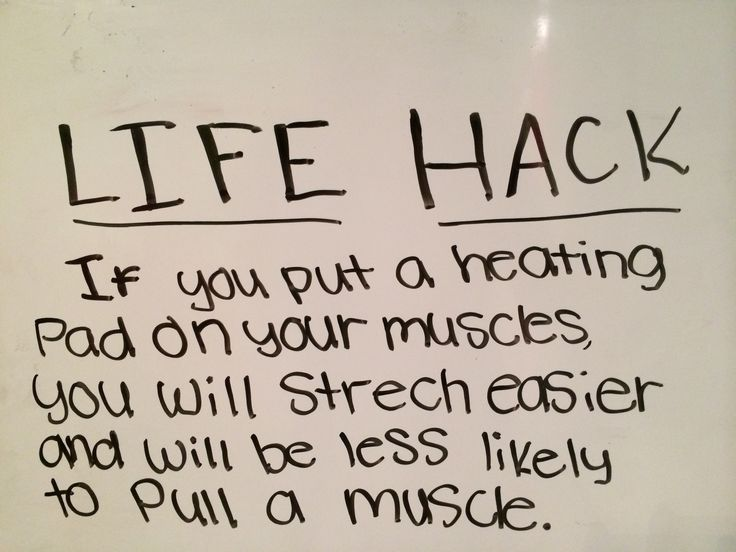 Life hack for cheerleaders and gymnast.