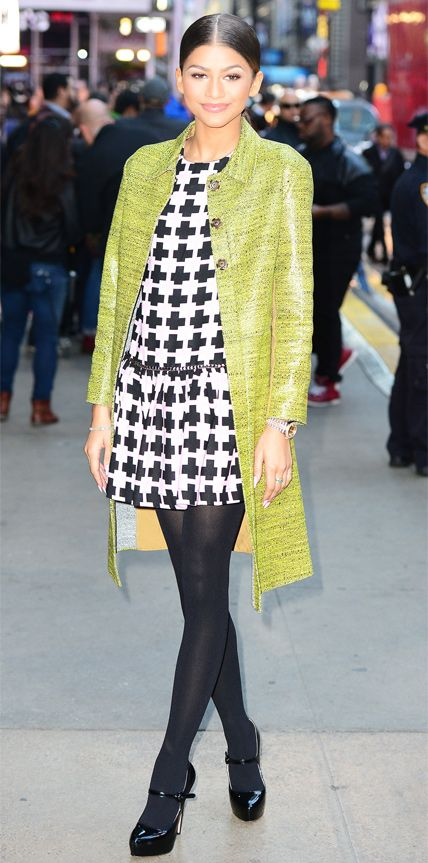 Look of the Day - October 28, 2014 - Zendaya from #InStyle