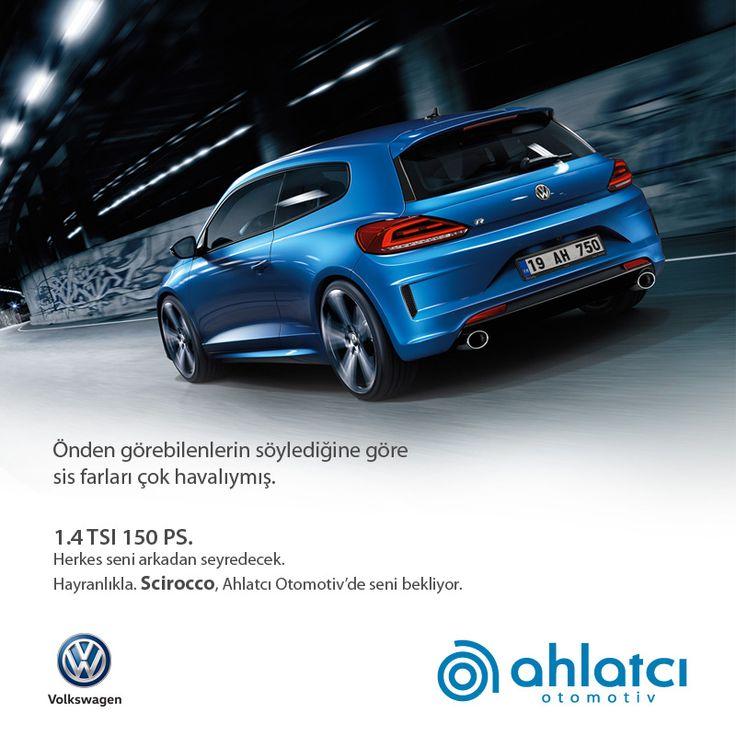 Bon Önden Görebilenlerin Söylediğine Göre Sis Farları çok Havalıymış.  Hayranlıkla.1.4 TSI 150 PS. Volkswagen