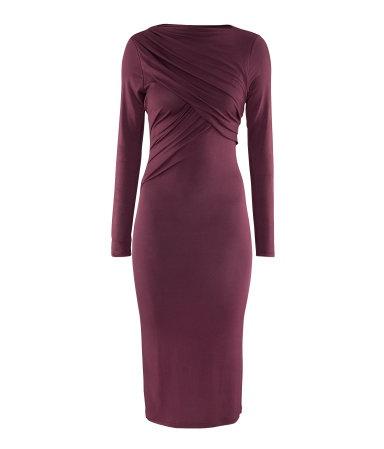 H I'm impressedSlim Modal, Fashion, Waist Slim, High Waist, Style, Modal Dresses, Sleeve High, Long Sleeve Maxi, Purple Long