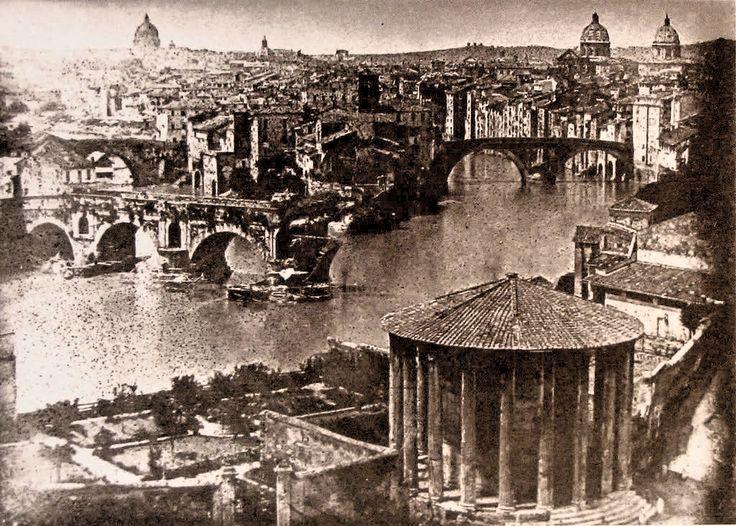 Roma , Bellissimo dagherrotipo del 1840