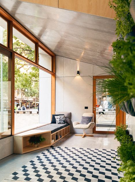 Prefabricated house in Melbourne's City Square can produce more energy than it uses - ArchiBlox has unveiled its prototype for a compact carbon-positive house.