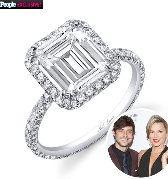 Nice Ali Fedotowski us carat Neil Lane engagement ring click for additional photos