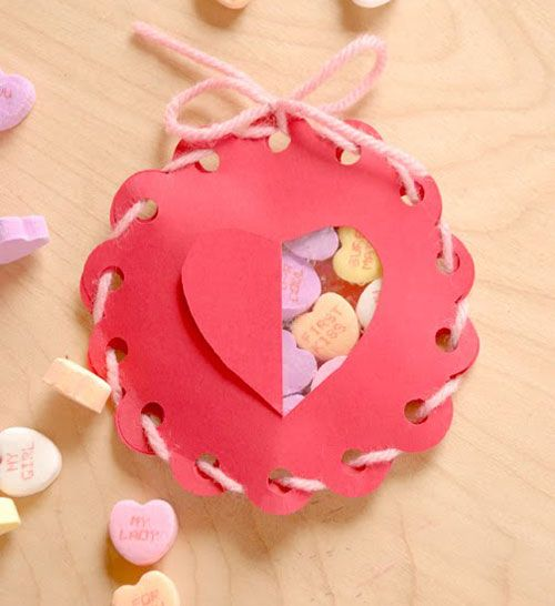 Cute Wrapping Ideas & Small Candy Boxes: Ideas for Valentine's Day, free templates / DIY Enthusiasts