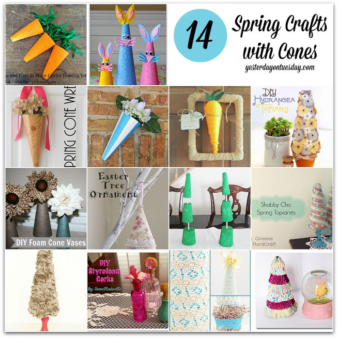 Featured 5 Spring Projects: Spring Crafts With Cones: Create Fun Spring Projects With