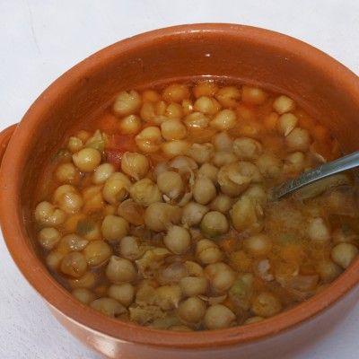 Chickpea casserole from Puglia