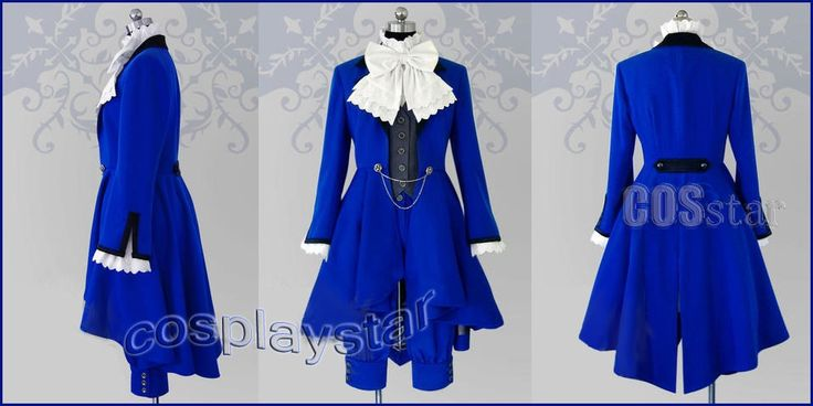 black butler facts | Black Butler - Kuroshitsuji Ciel Phantomhive Cosplay Costume - Blue ...