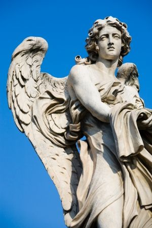 Angel Statue by Gmomma