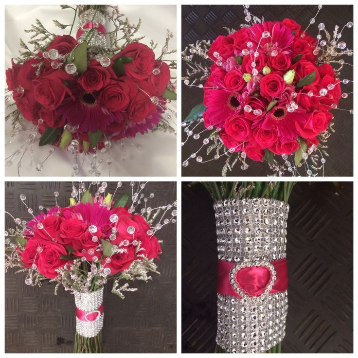 Bling bridal bouquet