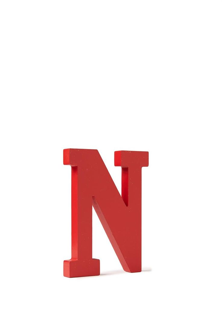 letterpress wooden letter