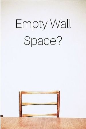 Big, blank walls? I can help. Designed-in-a-Click w/ Carla Aston