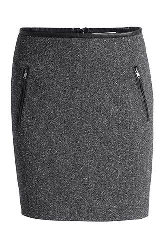 Esprit - - gemêleerde stretchrok kopen in de online shop