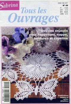 Magazine:  Sabrina Tous les Ouvrages, doilies  image host