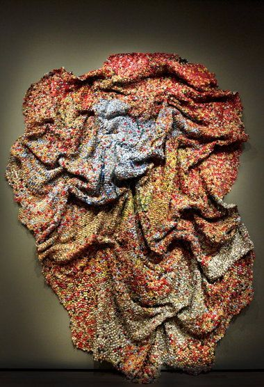 """Akron Art Museum's El Anatsui exhibition is artistic alchemy at its finest"" via  The Plain Dealer"