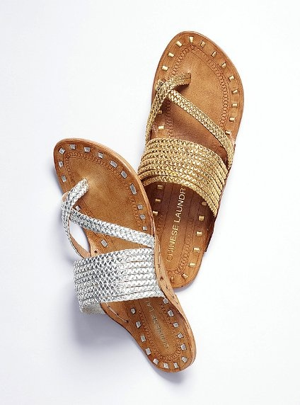 Braided Sandal ...chinese laundry