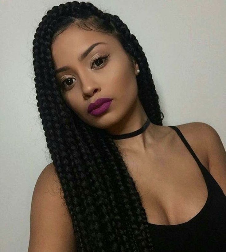Box Braids Hairstyle Adorable 4315 Best Box Braids** Images On Pinterest  Box Braids Braids And