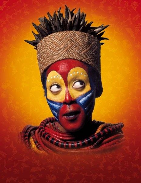 Lion King Face Paint Rafiki Makeup Friend