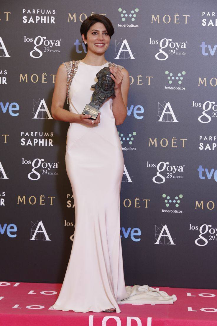 "Premio ""mejor actriz protagonista"" Bárbara Lennie, por 'Magical Girl'.  #goya2015 #federopticos #premiados"