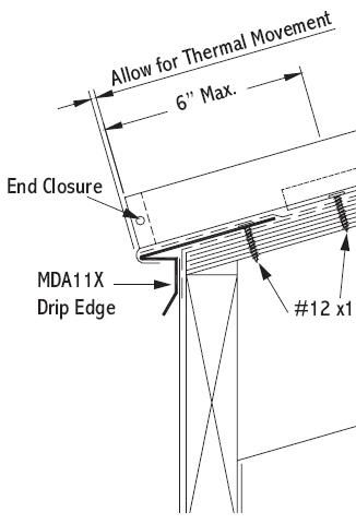 How to Install a Standing Seam Metal Roof & Flashing Details - RooferCalculator.com