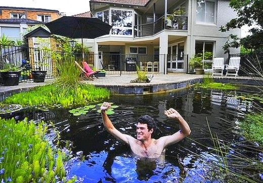 17 best images about repurposed swimming pool on pinterest for Repurposed swimming pool