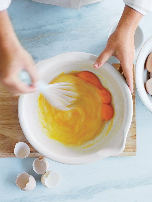 Lemon curd step 1