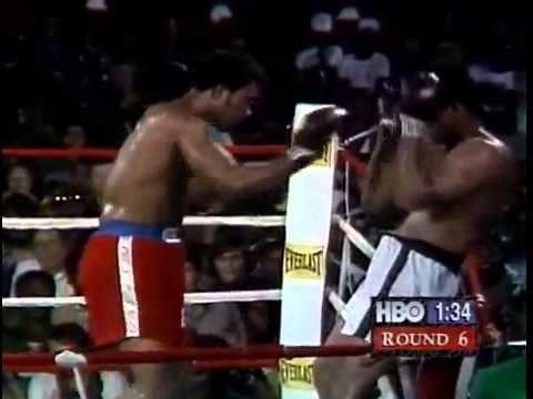 бокс Мухаммед Али против Джорджа Формана 1974 10 31 Muhammad Ali vs Geor...