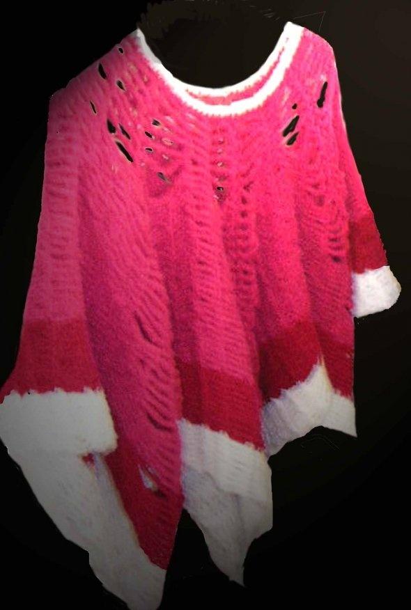 65 besten Crochet Poncho Bilder auf Pinterest | Kleidung häkeln ...