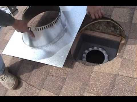 WOOD STOVE INSTALLATION START TO FIRE - YouTube hubby has to see this!!