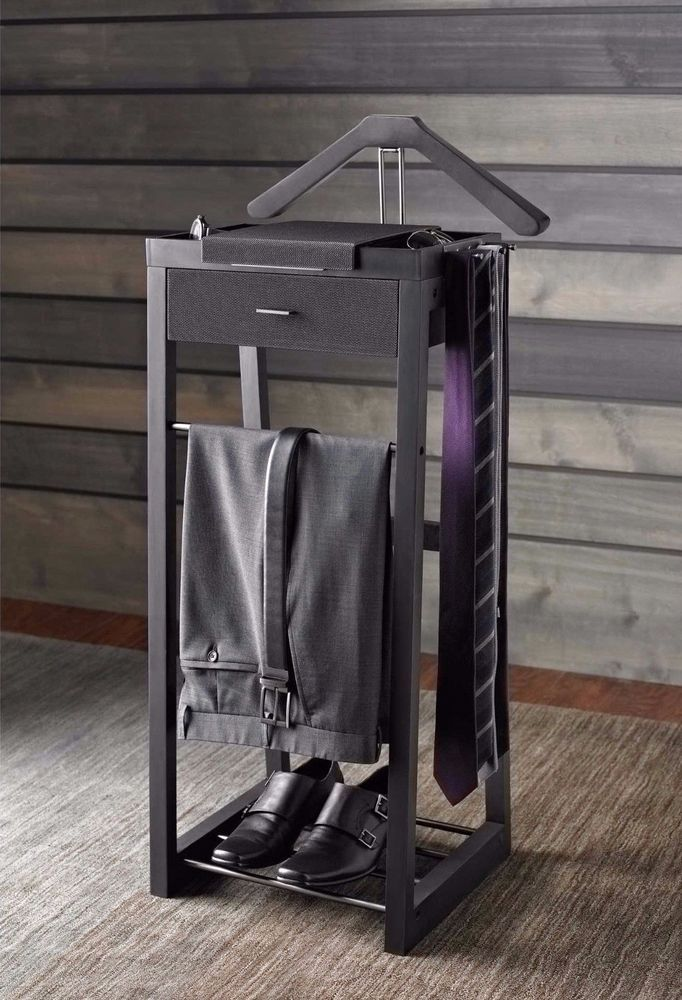 Valet Organizer Clothing Suit Standing Mens Stand Clothes Hanger Clothes Rack KennethCole