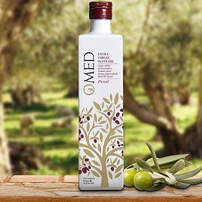Mittelfruchtiges Testsieger Olivenöl OMED Piccual aus Andalusien (Spanien) | Gewinner Stiftung Warentest 02/2016 und Olio Award 2015