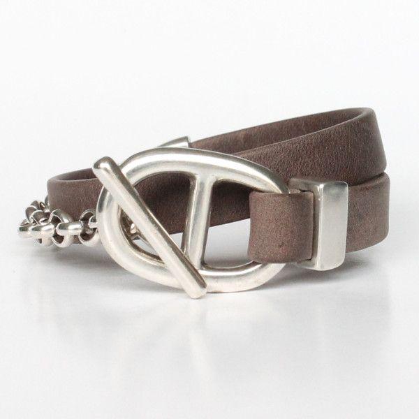 Bracelet By Cuir Femme Maille Gwlad'sbraceletcuirBijoux Marine bI7vmf6Ygy
