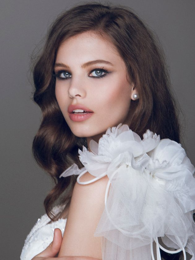Blumarine -  Bridal makeup and hairstyle #Wedding #hairstyles