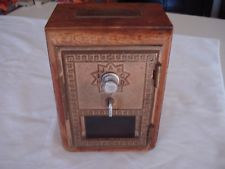 Vintage Post Office Door Mail Box Postal Bank (Combination Included) LATE 50'S