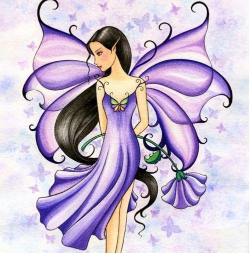 purple fairy purple fairy photo ilovecookies14 39 s photos buzznet fairies pinterest. Black Bedroom Furniture Sets. Home Design Ideas