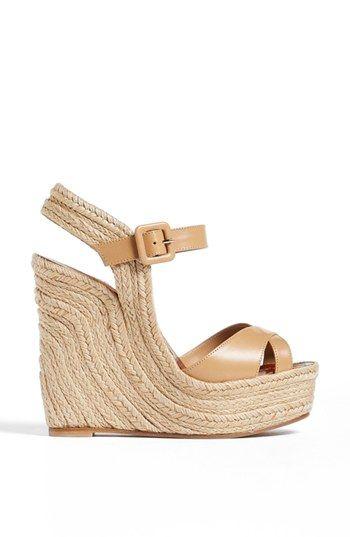 Valentino 'St. Tropez' Espadrille Wedge Sandal | Nordstrom