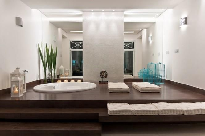 bathtub in ground forthehome pinterest