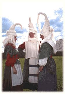 Basque Country:  The Basques of northern Spain attempt to use their bizarrely unique national dress as an outlet to express their independent history, customs, and tradition as the only surviving Spanish community free of Latin historic influence.