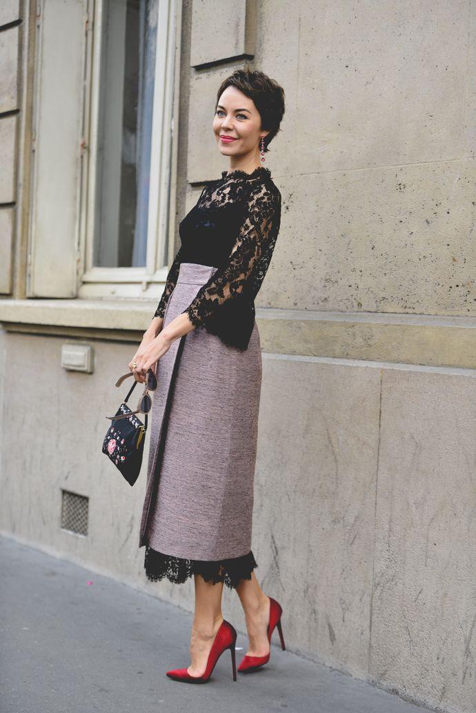 so lovely. #UlyanaSergeenko in Paris.