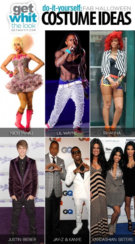 How to DIY Nicki Minaj, Lil Wayne, Rihanna costumes