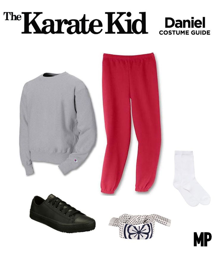 80s movie halloween costume the karate kid 1984 - The Karate Kid Halloween Fight