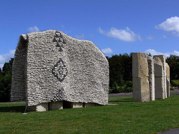 Stone Cloak, Chris Booth , Hamilton NZ