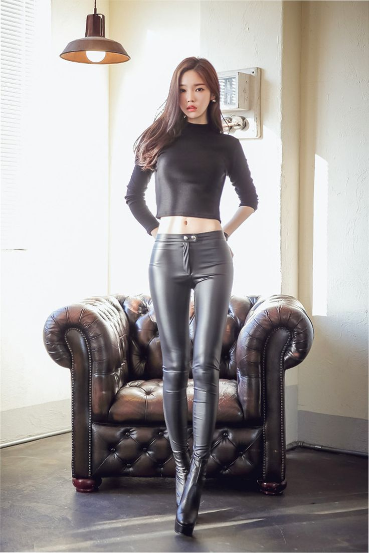 Japan leather pants 9