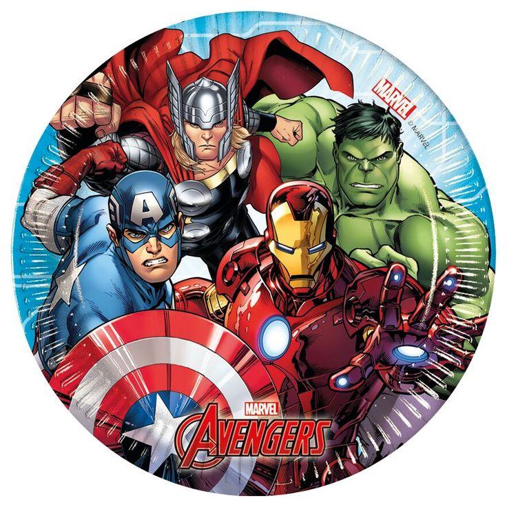Avengers-lautanen, pieni