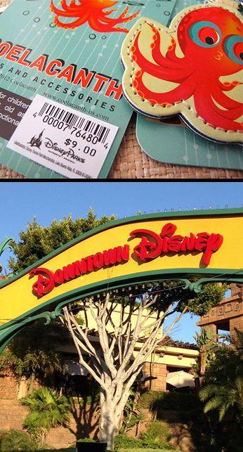 $9.00 Octopus Key Chain - Downtown Disney