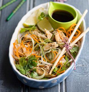 'Carrate' Chicken Noodle Salad | Real Meal Revolution