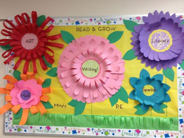 Flowers Bulletin Boards | 3D Flower Bulletin Board