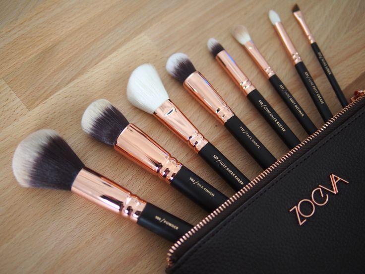 Zoeva Makeup brushes by greyish
