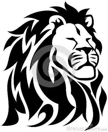 Reggae Tribal Tattoos Proud Lion Royalty Free Stock Images Image